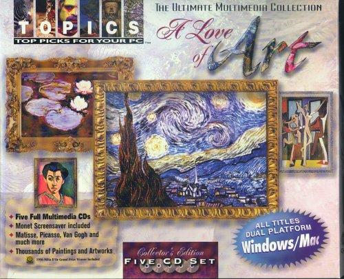 Software : A Love of Art (4 CD-ROM)