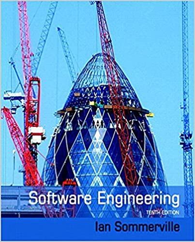 Software Engineering 10th Edition Ian Sommerville