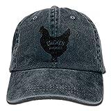chicken bucket hat - Men's Or Women's Chicken Whisperer Denim Fabric Baseball Hat Adjustable Street Rapper Hat