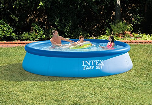 intex 12ft x 30in easy set pool set the camping companion. Black Bedroom Furniture Sets. Home Design Ideas