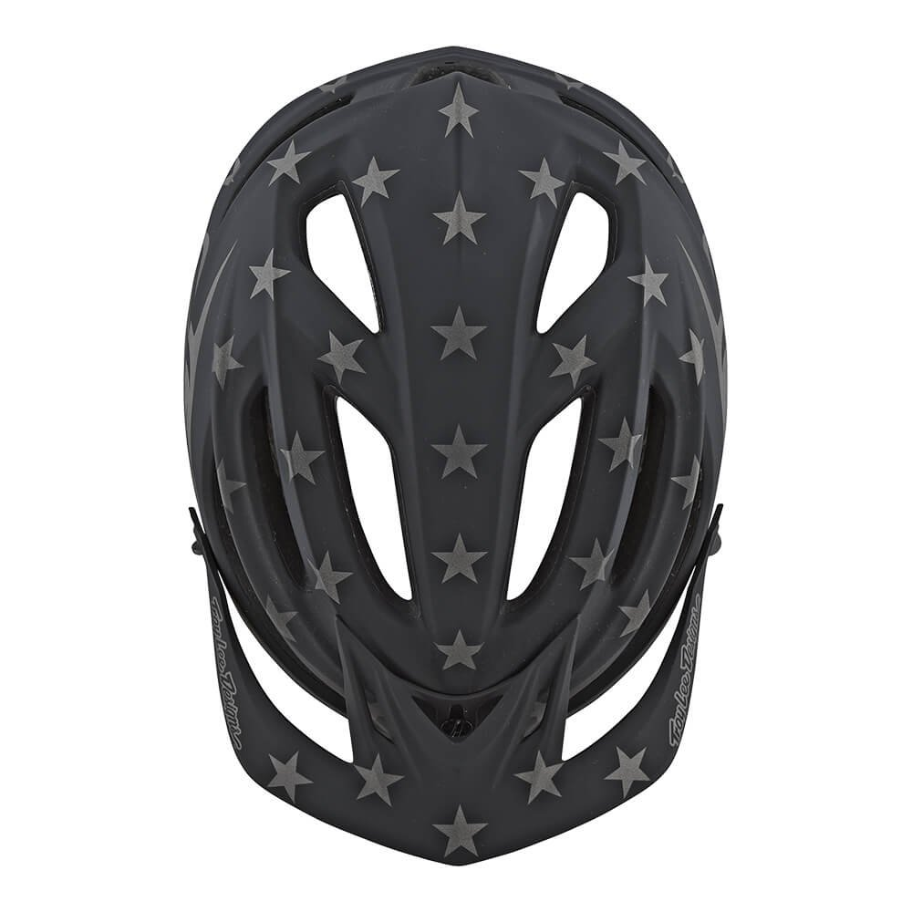 Troy Lee Designs A2 Superstar Mountain Bike Adult Helmet 2018 with MIPS Protection and X-Static Liner meets/exceeds CPSC CE-EN AS/NZS X-Large/2X-Large Black by Troy Lee Designs (Image #3)