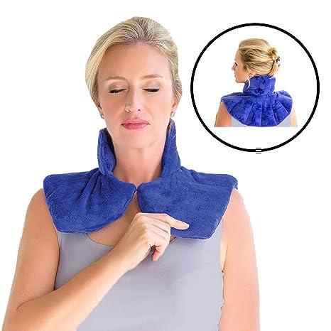Hombro & ~ Cuello envolvente microondas almohadilla de calor ...