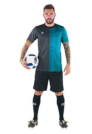 4f62964934 Pro-Lineup Sports Shirt Fitness Training Football Soccer Workout Gym ...