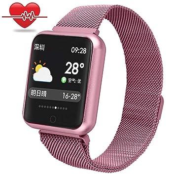 RanGuo - Reloj Inteligente para Hombres, Mujeres y niños, Deportes al aire libre impermeable IP68 Smart Watch para sistema Android y iOS, Apoyo ...
