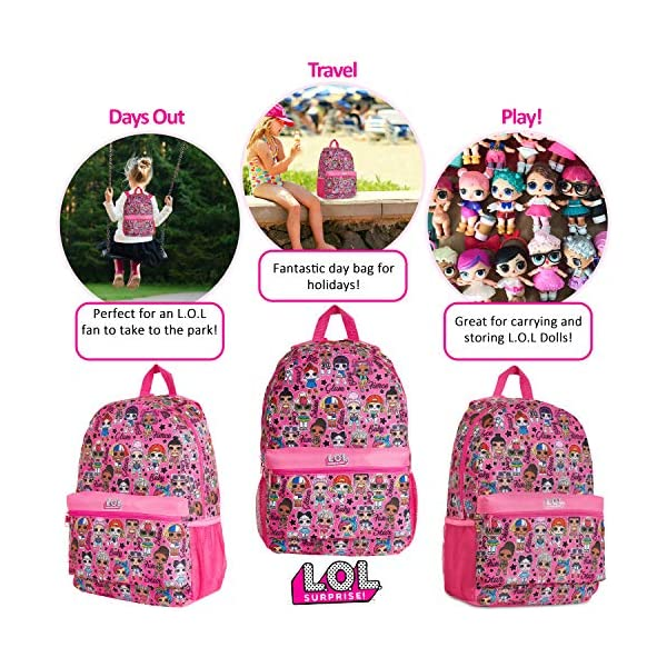 L.O.L. Surprise ! Zaino Scuola Elementare Bambina, Lol Surprise Zaini Medie E Asilo, Zainetto Back To School, Cartelle… 3 spesavip