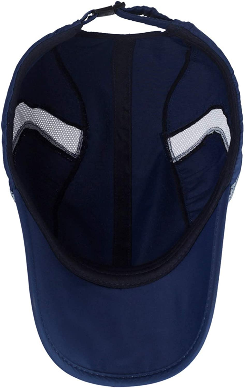 2019 Summer Quick Drying Cap Mens Baseball Cap Women Sun Breathable Hats Dad Outdoor Snapback Caps Dark Gray