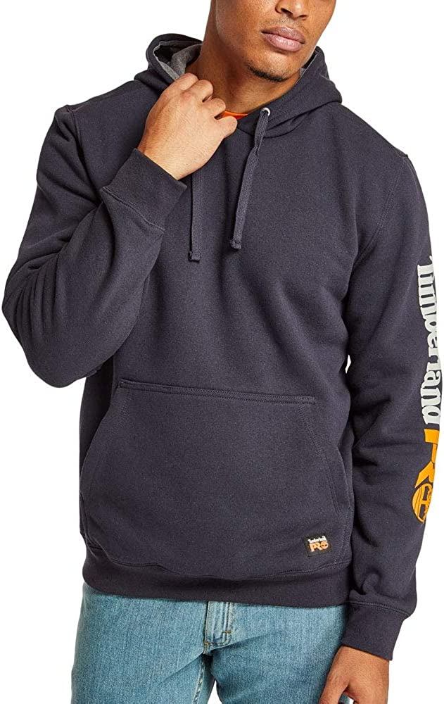 Timberland PRO Mens A115D Hood Honcho Pullover Small Dark Navy