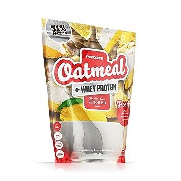 Prozis Oatmeal y Proteína de leche, Pastelito de limón - 400 gr ...