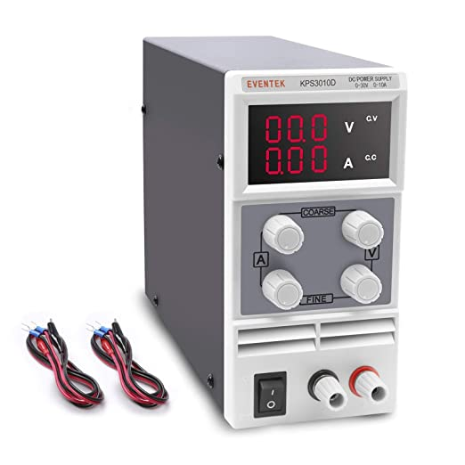 DC Power Supply Variable Eventek 0-32V 0-5.2A Power Supply Adjustable Regulated