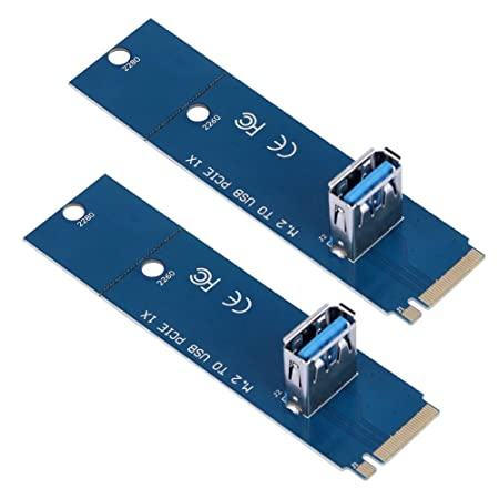 Globeagle 2pcs/M.2 NGFF a minería adaptador convertidor USB ...