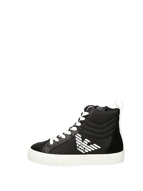 Emporio Armani XSZ001 Sneakers Alte Bambino  Amazon.it  Scarpe e borse b0fb221215e