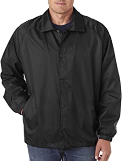 Amazon.com: Augusta Sportswear MEN&39S NYLON COACH&39S JACKET/LINED