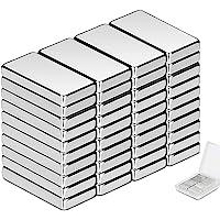 Neodymium magneten Wukong, 20 x 10 x 3 mm mini magneten 40 stuks rechthoekige bakstenen voor whiteboard magneetbord…