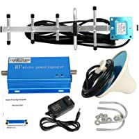 HaoFst CDMA 850MHz Cell Phone Signal 3G Repeater Booster Amplifier Extender + Yagi Antenna Kit