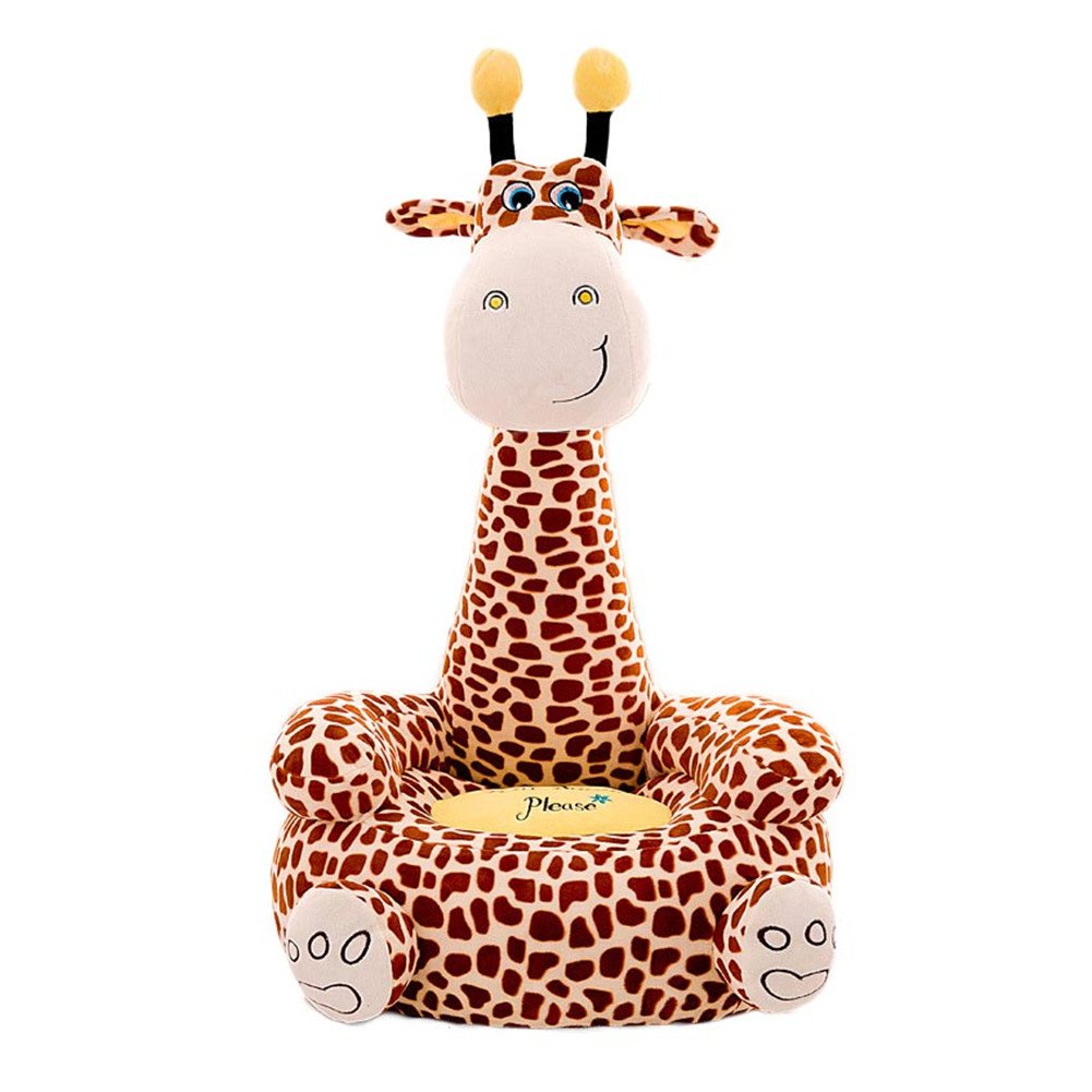 O-Toys Baby Chairs Siting Learning Infant Seat Toddlers Plush Stuffed Animal Pillow Cushion Sofa Kids 2-8 Years Giraffe by O-Toys
