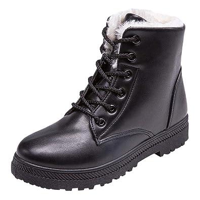 b9cecdf52c3 Rosennie Womens Boots, Women Fashion Autumn Winter Shoe Retro Velvet ...