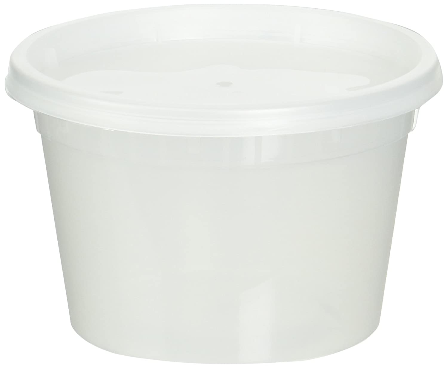 Reditainer Deli Food Storage Containers with Lid, 16-Ounce, 36-Pack RTRR3616
