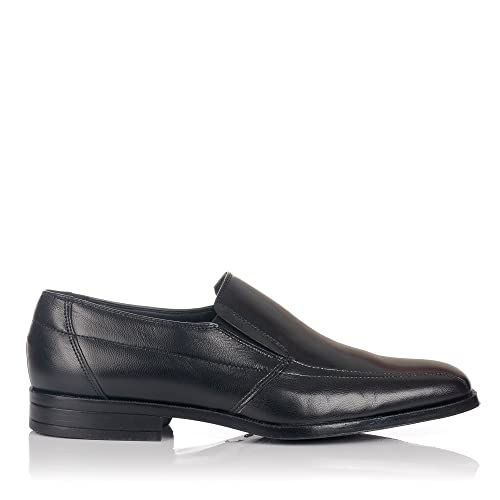 BAERCHI 2632 Mocasin Cost. Vestir Hombre Negro 40: Amazon.es: Zapatos y complementos