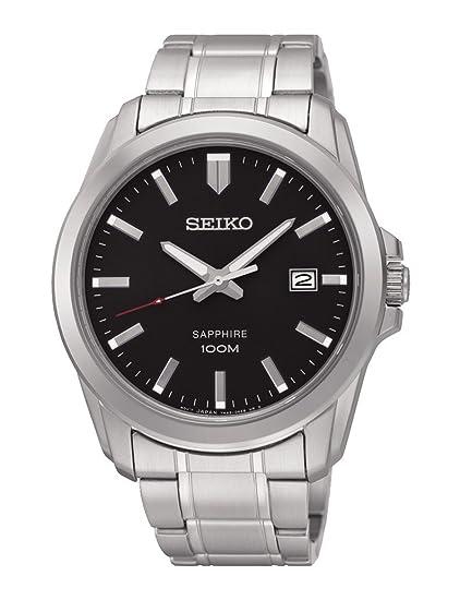 Seiko Sgeh49p1 Reloj Classic esRelojes Hombre Neo NegroAmazon IgfY6b7yv