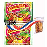 2 x french caramel fruit 320 gr-carambar aux fruits CADBURY CARAMBAR + 1 bag of madeleines Théodore Bardin-Cuinet