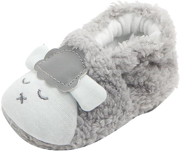 Baby Newborn Kids Non-slip Soft Shoes Lovely Toddler Girls Prewalker Shoes 0-12M