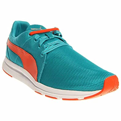 PUMA 357446-02 Men HAAST Lace Bluebird Tigerlily White dfd28cefa20