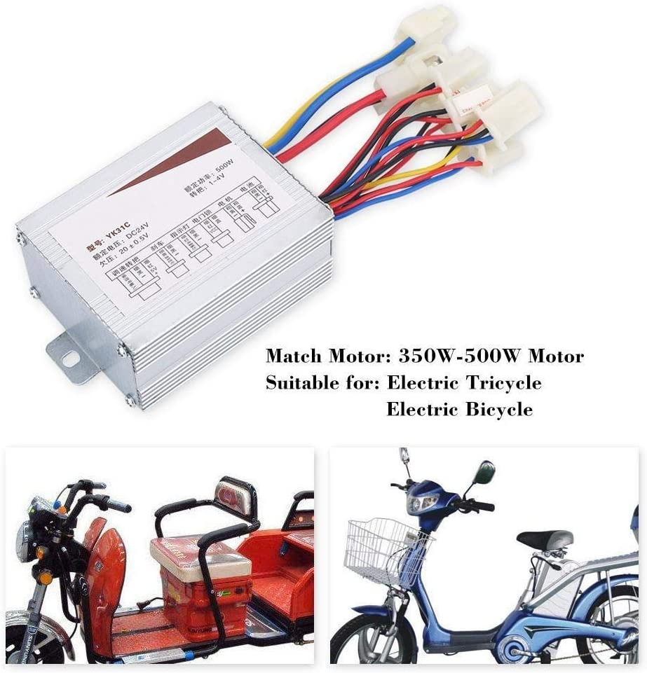 Broco 24V 500W Motor Brushed-Controller-Box for Elektro-Fahrrad-Roller E-Fahrrad