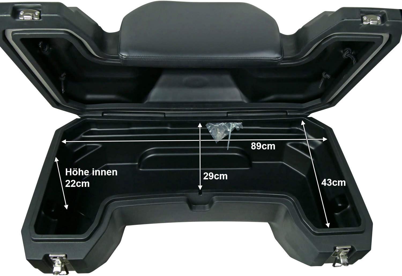 ATV Quad Mallette Cargo Topcase 150L CF Moto 450/500/550/625/700/800