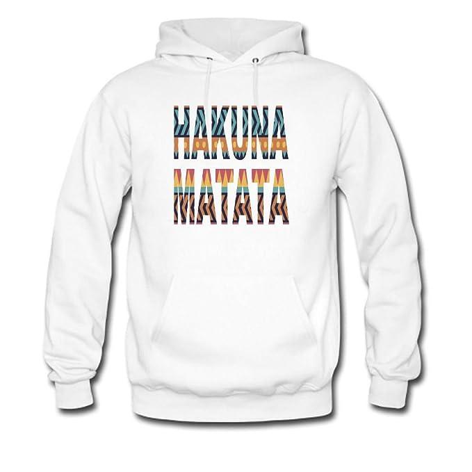 HKdiy Hakuna Matata Custom Mens Pullover Hoodie