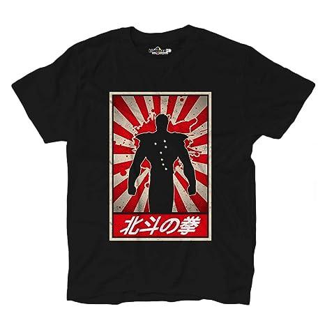 Kiarenzafd maglietta cartoni animati t shirt manga anime ken il