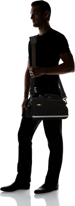 Black Topeak Unisexs MTX EXP Trunk Bag 36 x 25 x 21.5 cm//16.6 Litre