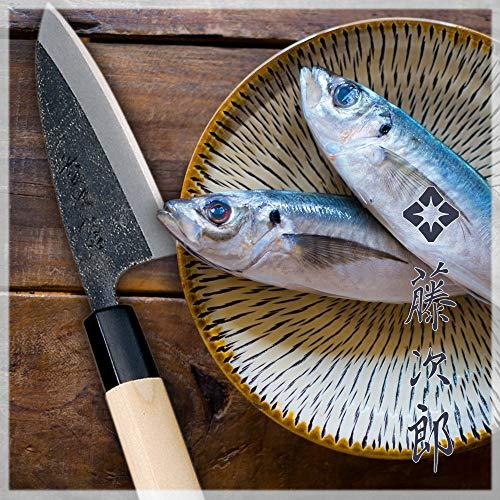 Tojiro Shirogami Steel Mini Light Deba Horse Mackerel Off Knife 105mm (F-897) by Tojiro (Image #1)