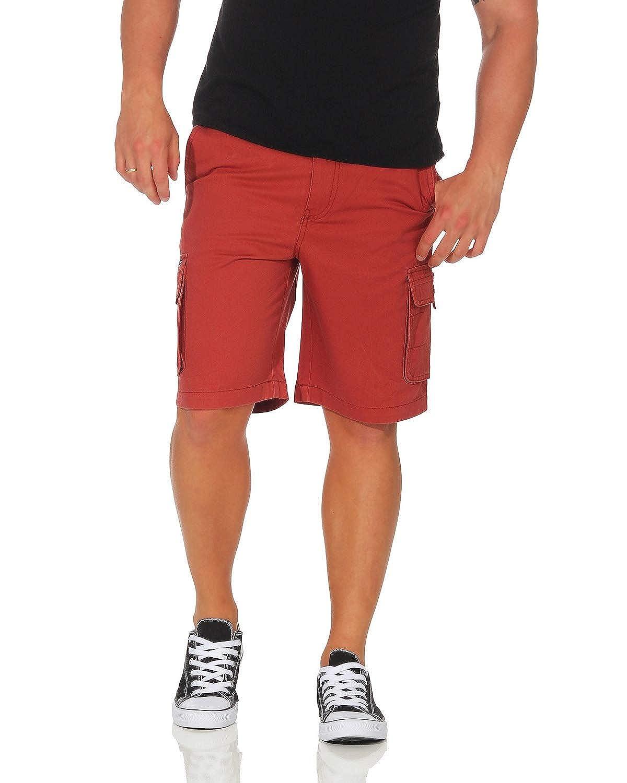 TALLA L (52). ZARMEXX Pantalón de algodón para Hombre Pantalón Corto de Bermudas Pantalón de Verano Ocio Ajuste Suelto