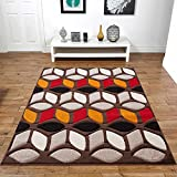 Contemporary Area Rug Home Decor Discount Rugs Living Bed Room Floor Carpets (10 ft. 9.9 in. x 7 ft. 10.5 in.)