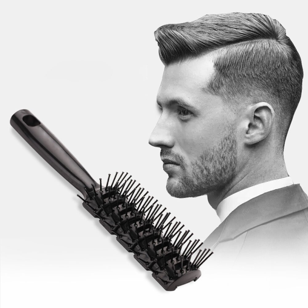 Hair Brush Hair Styling Brush Or Comb Detangling Brush No More Tangle Professional Salon Styling Brush For All Kind of Hair For Man and Women