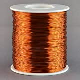 wire 24 gauge insulated - Magnet Wire 24 Gauge AWG Enameled Copper 792 Feet Tattoo Coil Winding 200C