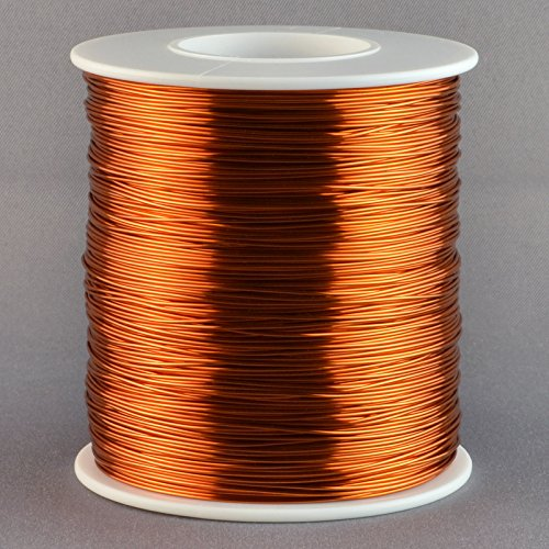 Magnet Wire 26 Gauge AWG Enameled Copper 1260 Feet Tesla Coil Winding 200C ()
