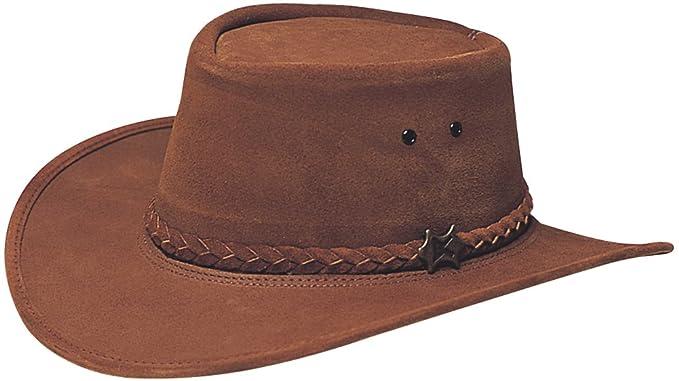 Conner Hats Men s Stockman Suede Australian Leather Hat at Amazon ... d37a838a9cc8
