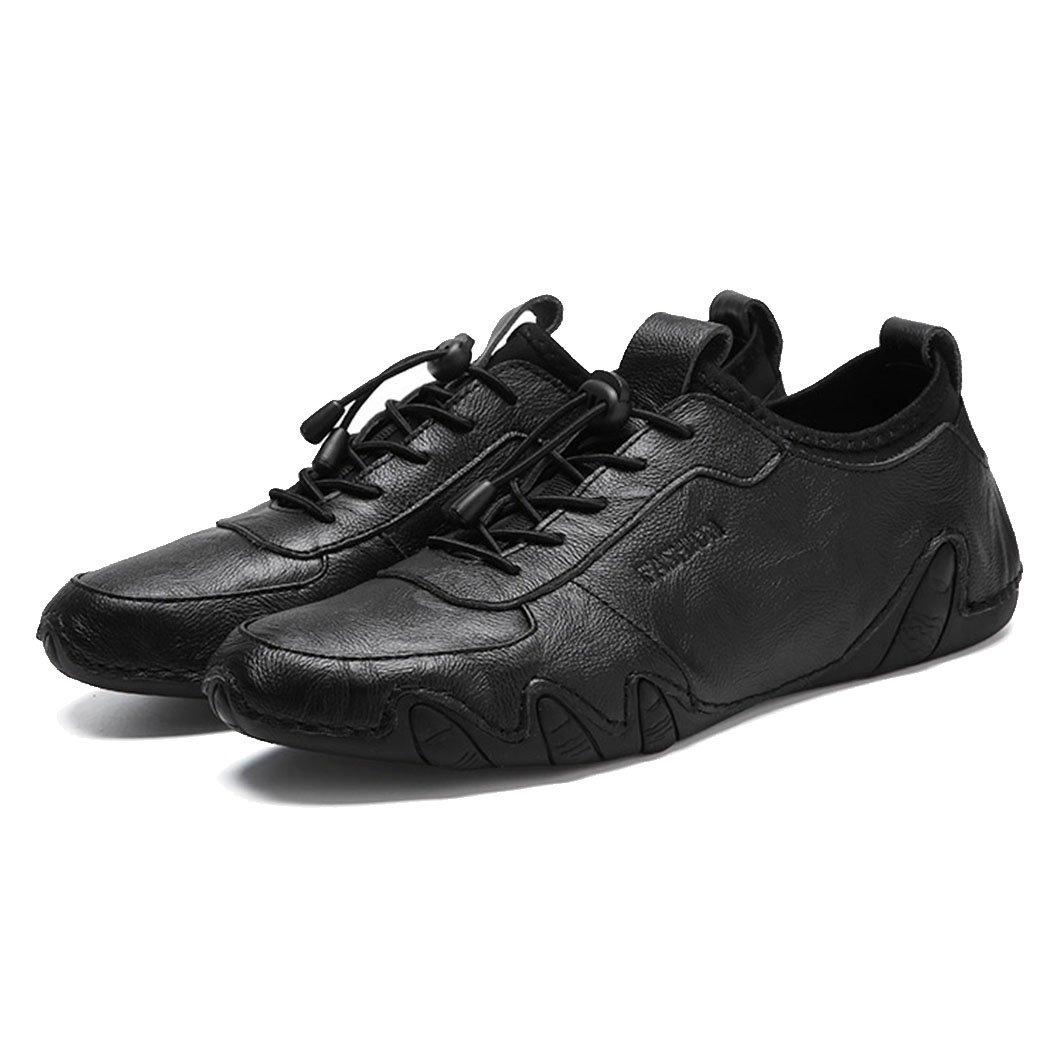 GAOLIXIA Mode Männer Echtes Leder Driving Schuhe Jahreszeiten Freizeitschuhe Mode GAOLIXIA Arbeit Schuhe Müßiggänger Outdoor Freizeit Wandern Schuhe 05ee8c