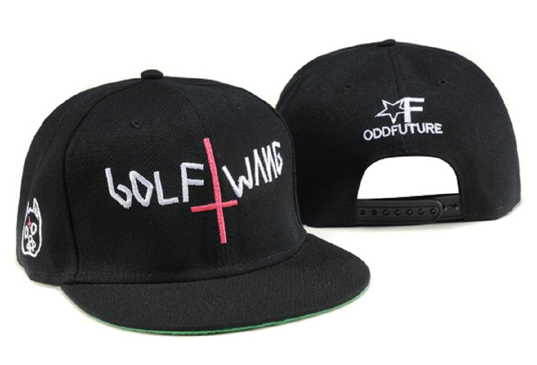 Odd Future Golf Wang Hat (Black)  Amazon.co.uk  Sports   Outdoors cf572d9399c2