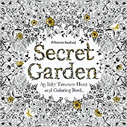 Amazoncom Secret Garden An Inky Treasure Hunt And