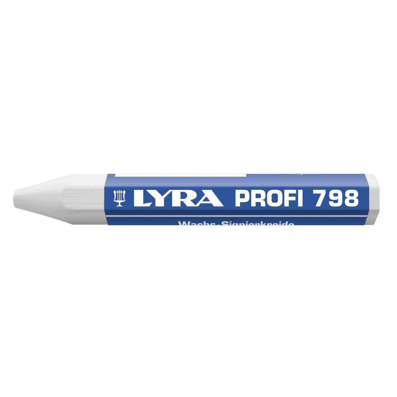 Lyra cera gesso 798/forma esagonale contenuto 12/pezzi 4880007 giallo
