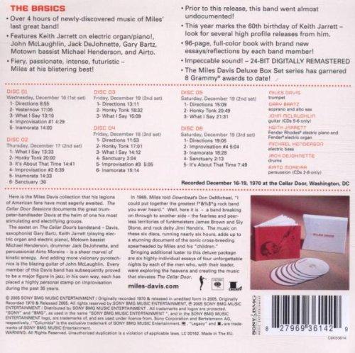 sc 1 st  Amazon.com & Miles Davis - The Cellar Door Sessions 1970 - Amazon.com Music
