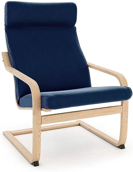 Ikea Poang Draaifauteuil.Masters Of Covers Housse De Rechange De Fauteuil Poang D Ikea