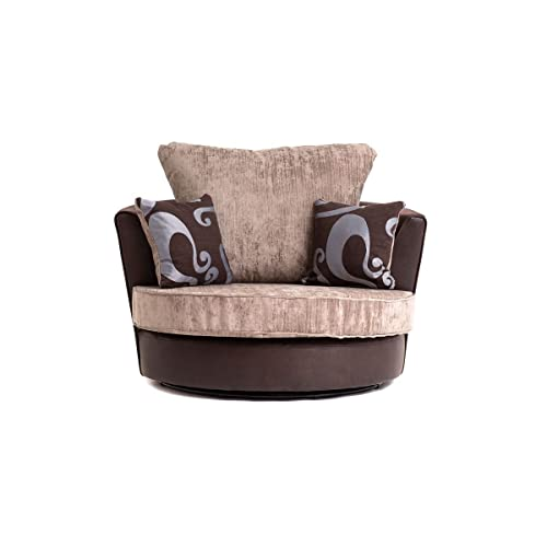 Swivel Chairs For Living Room Amazon Co Uk