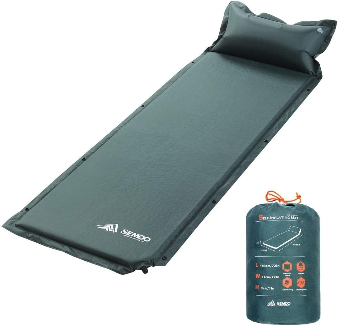 SEMOO Self-Inflating Camping Sleeping Pads