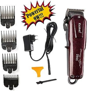 Afeitadora de cabello profesional Cortadora de cabello eléctrica ...