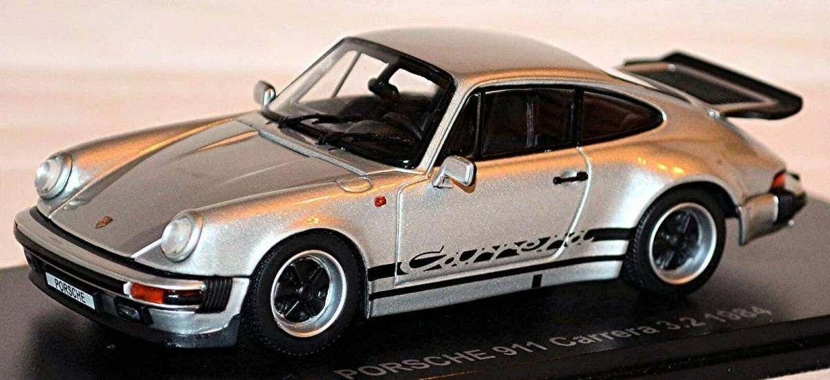 S952 Porsche 911 Carrera 3,2 Type 930 G-Model Coupe 1984 Silver Metallic 1:43 ポルシェ911カレラ3,2タイプ930 Gモデル