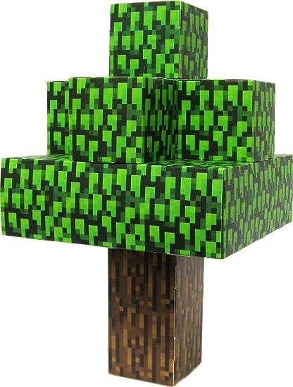 Amazon Jazwares Minecraft Papercraft Oak Tree Toys Games