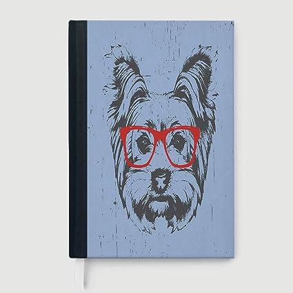 Libreta de composición/cuaderno de yoga, silueta de una ...